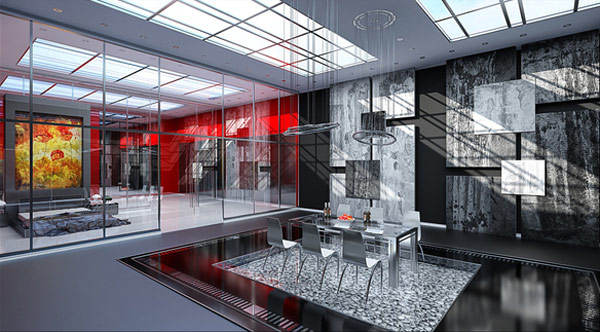 Competitive Dining Room Design