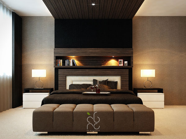 elegant masters bedroom image - Home Design Lover