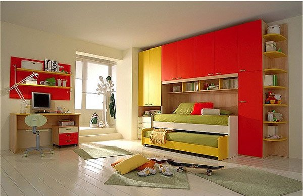 Inviting Child s Idea Bed. 20 Vibrant and Lively Kids Bedroom Designs   Home Design Lover