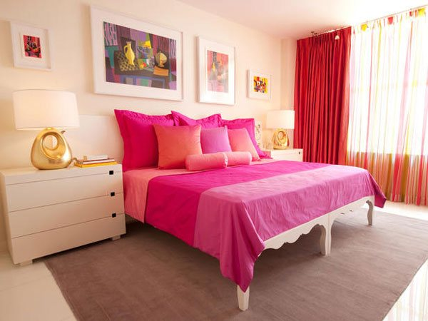 Rusu Pink bedroom
