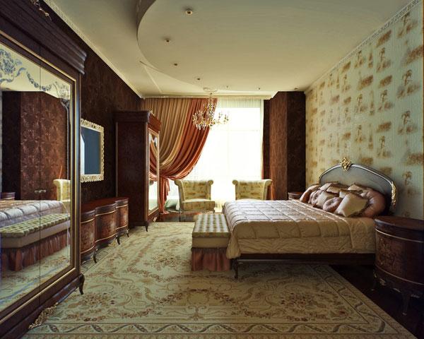 Classic Bedroom concept