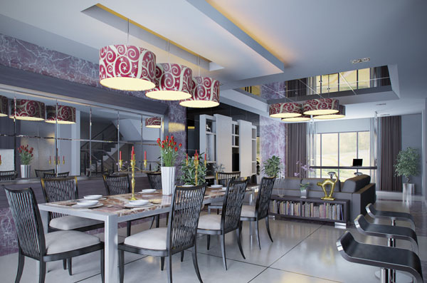 Very Nice Dining Room Design