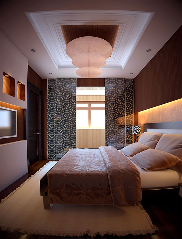 Well-decorated Bedroom With comfort