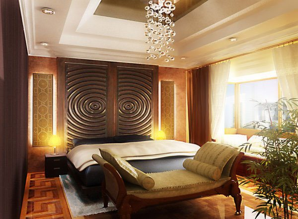 Villa Masters Bedroom Design