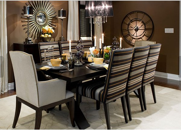 15 Adorable Contemporary Dining Room Designs Home Design Lover