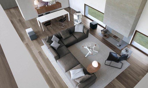 Cool Contemporary Living Room Design