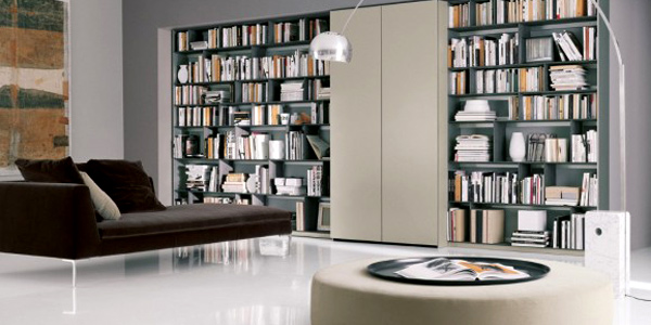 Choose library furniture