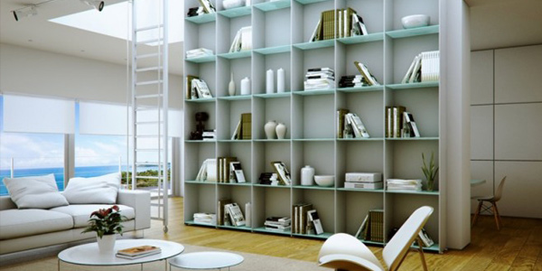 Library arrangement and layout