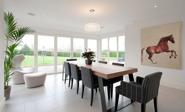 Neat Modern Dining Room Design