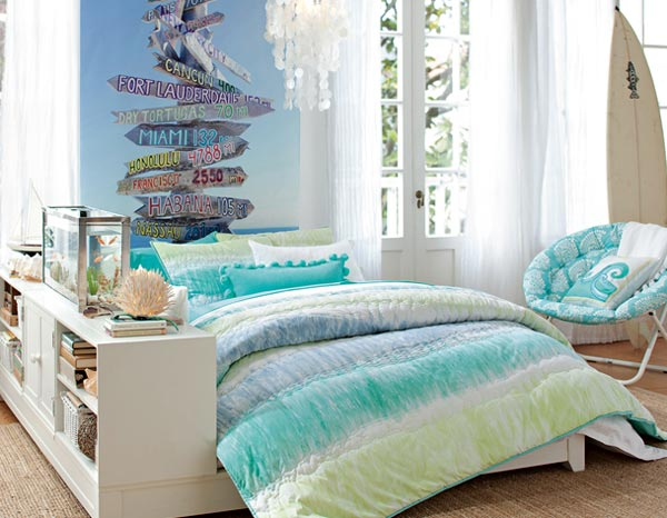 Artistic Teen Bedroom. 15 Cool and Well Expressed Teen Bedroom Collection   Home Design Lover