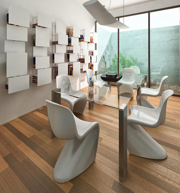Very Nice Modern Dining Room Design