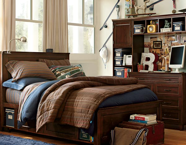 Organized Bedroom for young