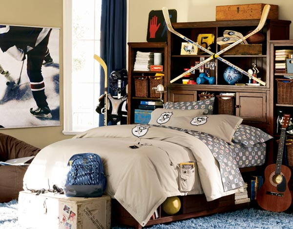 Sporty Young Bedroom Design