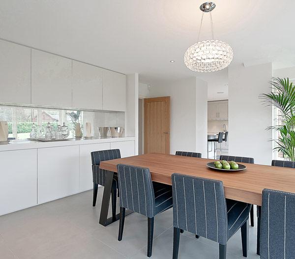 Really Elegant Modern Dining Room Design