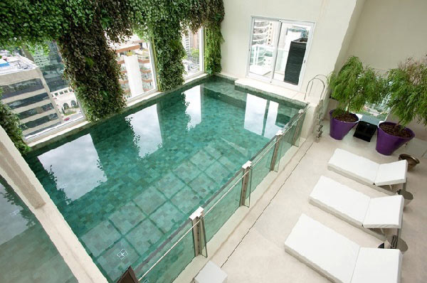 Elegant Indoor Swim Pool Ideas