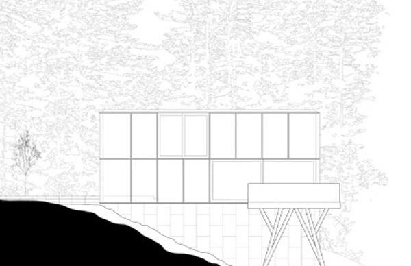 Glass House Sketch