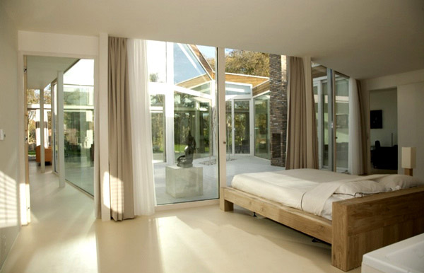 Contemporary White Bedroom
