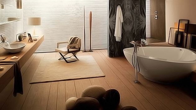 extraordinary bathroom design by axor