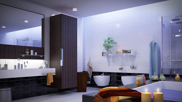 how to decorate a large bathroom for better function and style home design lover - Large Bathroom Designs