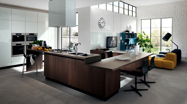 Trendy Kitchen Designs from Italys ScavoliniHome Design Lover