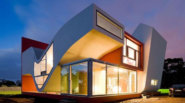 the futuristic house in sao miguel