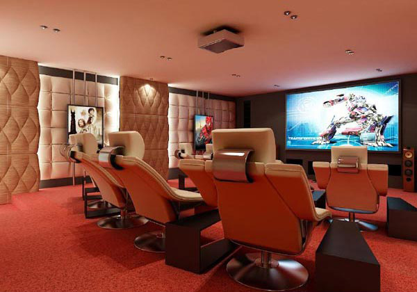 home theater designs - Home Theatre Designs