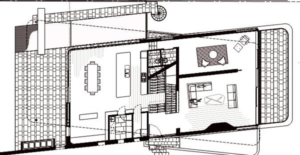 Gordon's Bay House Sketch Plan