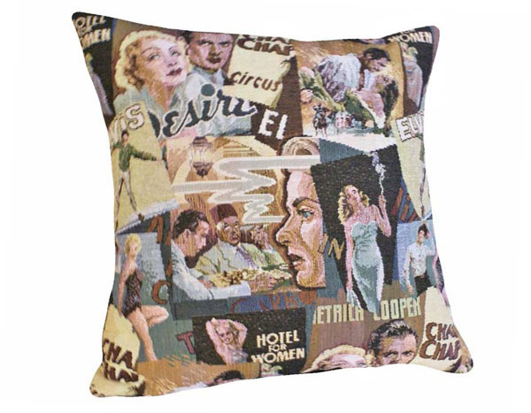 Hollywood Nostalgia Decorative Throw