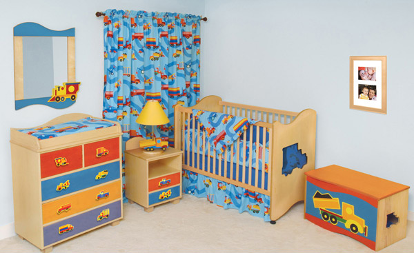 Boys Like Trucks Nursery