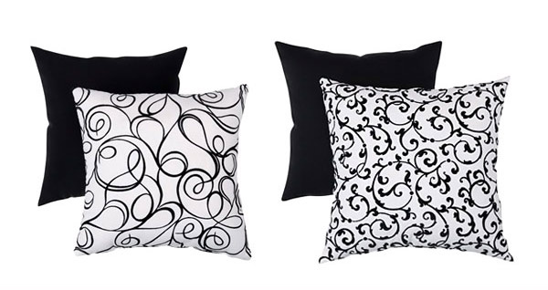 Modern Black and White Throws
