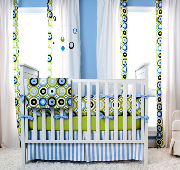 Blue and Green Giddy Doty Room