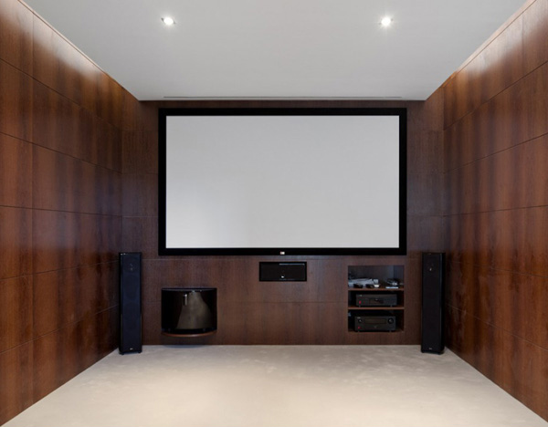 Entertainment area design