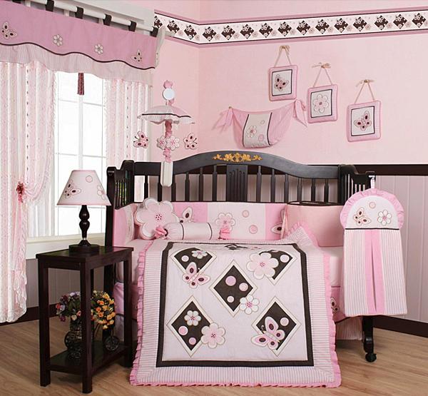 Pink Butterfly Nursery