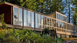 eco friendly house in california