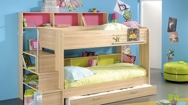 kid s bedroom furniture  space saving bunk beds   home design lover. Bunk Beds Bedroom Set Home Design Ideas   sicadinc com   Home