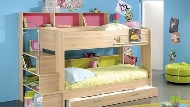 . Kid s Bedroom Furniture  Space Saving Bunk Beds   Home Design Lover