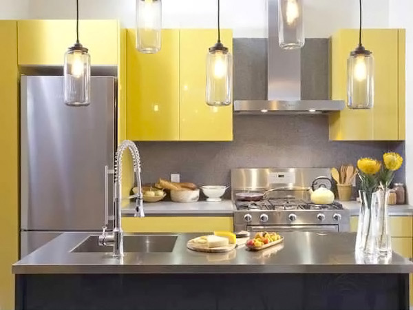 Yellow Cabinets