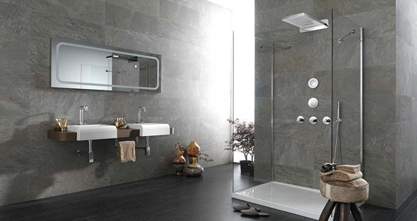 20 Exceptional and Relaxing Contemporary Bathroom Designs | Home ...