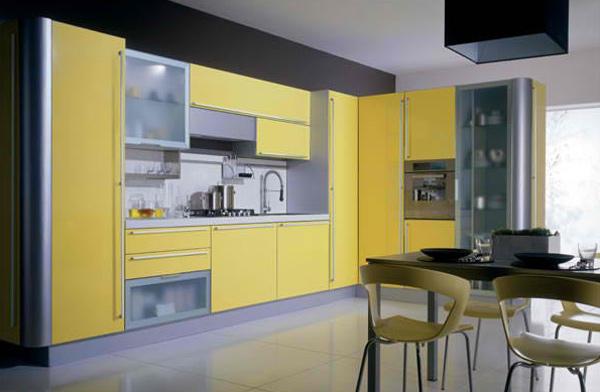gray yellow  miro miro gray yellow: modular kitchen colors