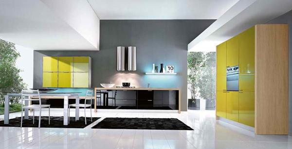 gloss cabinets