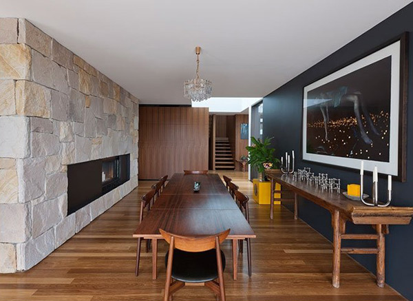 Flipped House Dining Area