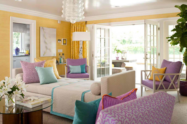 colorful living rooms