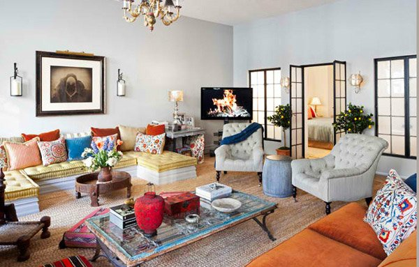room design. 20 Incredibly Eclectic Living Room Designs   Home Design Lover