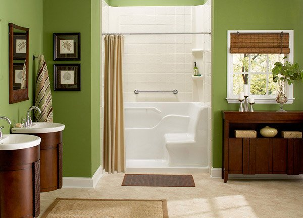 Seated Shower Tropic