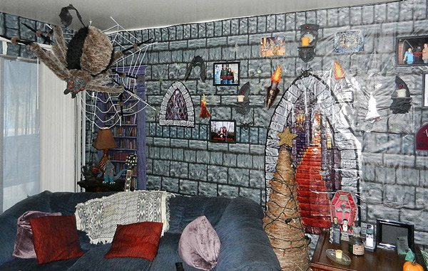 Halloween interior design