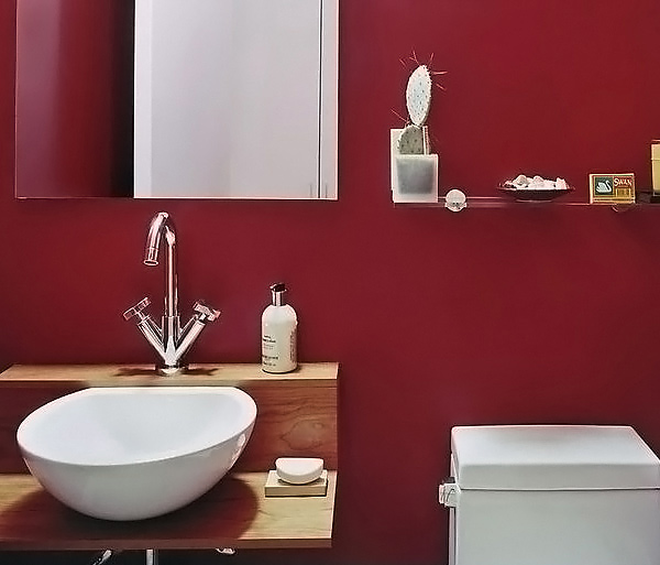 Red Bathroom Designs
