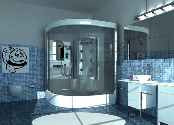 Blue Bathroom Designs