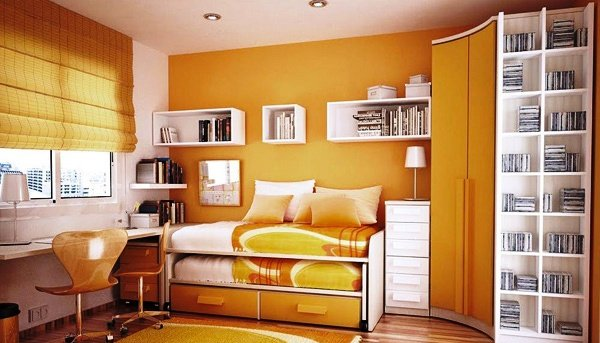 small bedroom designs  home design lover, Bedroom decor