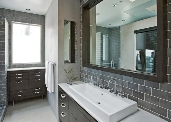 Remarkable A Look At 15 Sophisticated Gray Bathroom Designs Home Design Lover Inspirational Interior Design Netriciaus