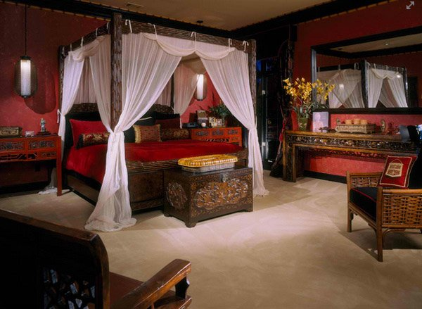asia bedroom designs
